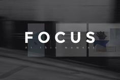 Focus PowerPoin Presentation + Bonus by Entersge on @creativemarket