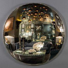 Ateliers C & S Davoy - Miroir Sorcière Ø 145cm - Witch Mirror Ø 145cm #atelierscsd #curiosité #curiosity #collection #decoration #interior