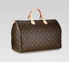 b0bfef6a816 Louis Vuitton Speedy 40 in monogram canvas. Louis Vuitton Speedy 35, Louis  Vuitton Taschen