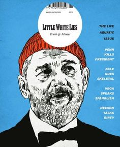 Paul Willoughby Little white lies magazine Little White Lies 01 - The Life Aquatic Issue