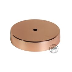 "Polished Copper- 4-3/4"" Diameter- 7/8"" Height"