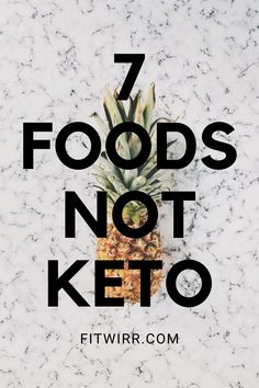 7 foods not keto. Not all healthy foods are keto. And not all vegetables are keto. So here are 7 foods you absolutely need to avoid to stay in ketosis and succeed on a ketogenic diet. Ketogenic Diet Meal Plan, Ketogenic Diet For Beginners, Diets For Beginners, Keto Meal Plan, Diet Meal Plans, Meal Prep, No Carb Food List, Fat Foods, Healthy Diet Recipes