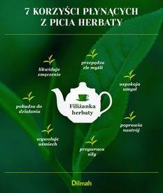 Korzyści płynące z picia herbaty.