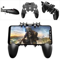 1 Paire GameSir Contr/ôleur de Jeu Mobile L1R1 Mobile Trigger Joystick PUBG Triggers FPS Shooter Contr/ôleur de Jeux Mobile Android iOS