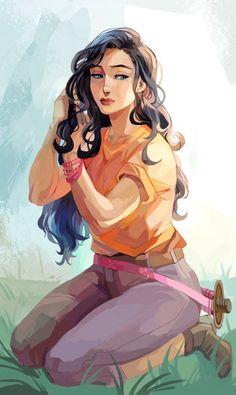 Selena Beauregard – Rick Riordan (Art by Viria)