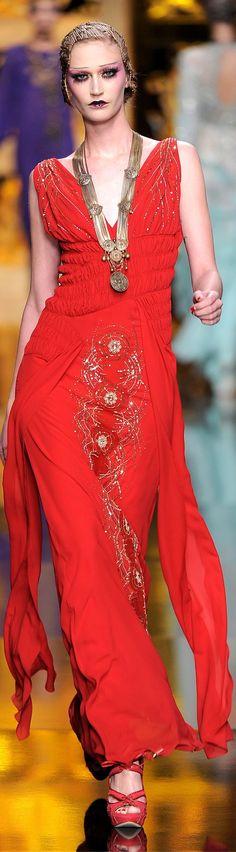 Christian Dior fall 2009.