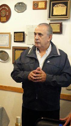 ROTARY CLUB QUILMES: Visita nuestro Club el Dr.Eduardo Camaño