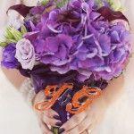 #Wedding Bouquet Charm #Swarovski crystals #StephanieWilliamsPhotography