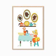 FAIRY TALE Goldilocks and the Three Bears by MayAndBazStore