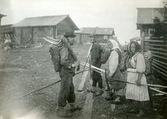 Russian people in pre-revolution photos (late 19th and early 20th ce.)