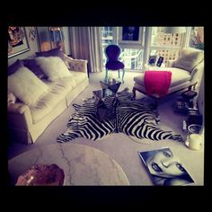 Cassie Ventura's Posh NYC Apartment..verry cute if i lived on my own