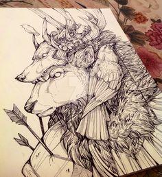 The Elk prince by WolfSkullJack.deviantart.com on @DeviantArt