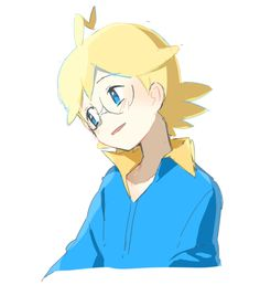 Clemont from the Pokemon anime