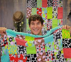 April is Autism Awareness month, and weighted blankets are something that can be very comforting to autistic people. Rob Appell of Man Sew...