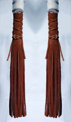 Leather Hair Wraps  Native American Inspired by EDCCollective,