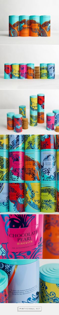 Fortnum and Mason's Biscuits design by Design Bridge