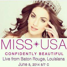 Miss USA 2014 advertisement with Gina Bernasconi Miss Vermont USA 2014
