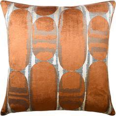 Avenue Design, Down Feather, Fine Linens, Accent Pieces, Decoration, Special Gifts, Decorative Pillows, Rust, Velvet