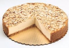 For all those cheesecake lovers out there, you must try this amaretto cheesecake! It's the perfect touch to your shavuot holiday! #Shavuot #DairyOnly Amaretto Cheesecake