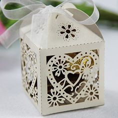 Melife® 100pcs Party Wedding Favor Hollowed-out Paper Candy Box (Beige) Melife http://www.amazon.com/dp/B00O8U78G2/ref=cm_sw_r_pi_dp_U0hTub0D2JBPV