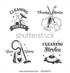 Keep Calm and Call A Cleaning Lady Business Card