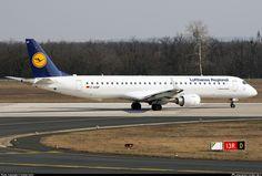 D-AEBP Lufthansa CityLine Embraer ERJ-195LR (ERJ-190-200 LR)