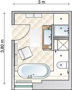 Vorher-Nachher: Großes Badezimmer wird wohnlich - [SCHÖNER WOHNEN]