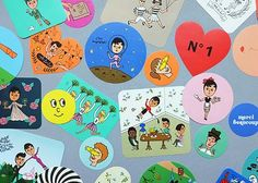 Fifty Stickers