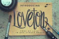 Loveton Typeface by