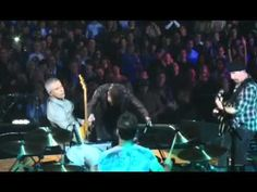 ▶ Metallica and U 2 with Ozzy,Bruce Springsteen,Mick Jagger @ Madison Square Garden - YouTube
