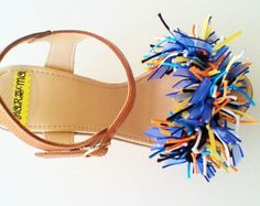 Woman's High Wedge Sandals Now available @ www.etsy.com/shop/ChicSandals Wish it was another colour just email us .