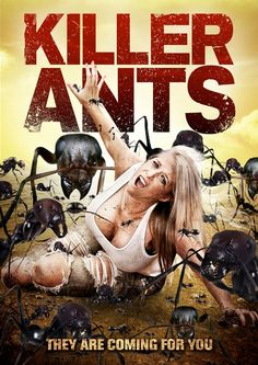 """""""Love, greed and fire ants mix it up in rural Texas"""" Killer Ants (2009) poster is crawling #posters #horrormovieposters #horrorposters #horrormovie"""