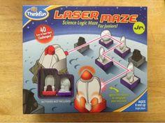 Homemaker Hobbies: Laser Maze Jr. Review