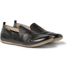 MARSELL Leather Slippers