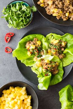 Can food produce and orgasm? Try this Ground Pork Lettuce Wrap with pineapple and find out for yourself, it came pretty darn close in my case.