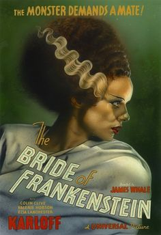 "GreGGory's SHOCK! THEATER, welcome2creepshow: ""The Bride of Frankenstein""..."