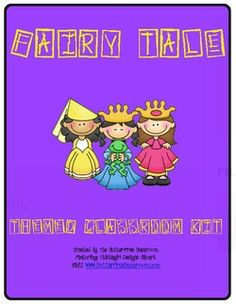 Fairy Tale themes for the classroom