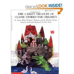 Eric Carle's Treasury Of Classic Stories (A Blue Ribbon Book)
