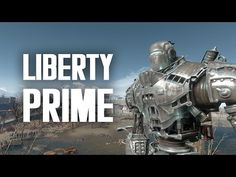The Full Story of Liberty Prime - Fallout 4 Lore Fallout Facts, Fallout Game, Fallout 4 Secrets, Twitch Tv, Best Games, Liberty, Video Games, Lol, Youtube