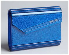 jimmy choo blue sparkle clutch | Real vs. Steal – Jimmy Choo Candy Glitter Clutch Bag