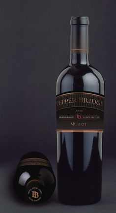 Pepper Bridge Winery asked Boxwood to refresh its label to make it more legible…