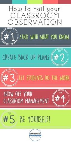 to Nail Your Classroom Observation Check out 5 tips and tricks to help you nail your next classroom observation!Check out 5 tips and tricks to help you nail your next classroom observation! Student Teaching, Teaching Tips, Classroom Organization, Classroom Management, Behavior Management, T Tess, Classroom Observation, School Classroom, Classroom Ideas