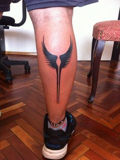 """Nordic Valkyrie Wings   valkyrie-wings-tattoo-valkyrie. By """"Guishe tatuajes Montevideo"""""""