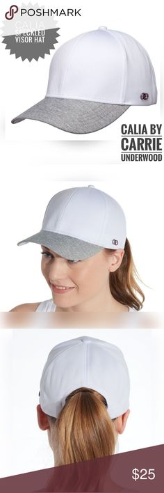 62c0b708d5424 CALIA Speckled Visor Hat. Get Your Workout On With This New CALIA by Carrie  Underwood