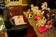 Night 8 Photo: Reading Elf on the Shelf. This Photo was uploaded by Lindsay_Galloway Christmas Hanukkah, Diy Christmas Ornaments, All Things Christmas, Christmas And New Year, Christmas Holidays, Christmas Ideas, Merry Christmas, Xmas, New Year's Crafts