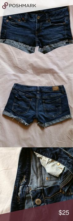 American Eagle Outfitters jean short Size 2 Excelleny Condici?n  STRETCH American Eagle Outfitters Shorts Jean Shorts