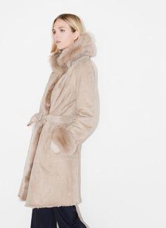 Reversible coat - Outerwear - Ready to wear - Uterqüe Spain