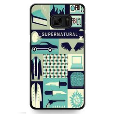 Supernatural Collage Art TATUM-10353 Samsung Phonecase Cover For Samsung Galaxy Note 7