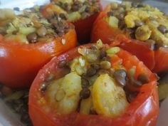 Filled tomatoes are healthy, easy, delicious, and very satisfying. Try them out and be prepared to make them more than once!