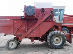 International 715 combine salvaged for used parts. This unit is available at All States Ag Parts in Salem, SD. Call 877-530-4010 parts. Unit ID#: EQ-24562. The photo depicts the equipment in the condition it arrived at our salvage yard. Parts shown may or may not still be available. http://www.TractorPartsASAP.com